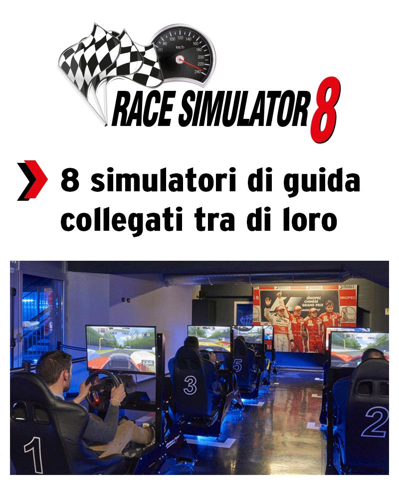 RACE SIMULATOR 8